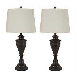 DARLITA METAL LAMP PAIR L204024 Image