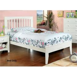PINEBROOK WHTE TWIN BED ONLY  CM7908WH-T-BED Image