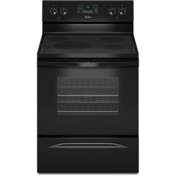 GLASS FLAT TOP ELECTRIC RANGE  WFE330W0AB0 Image
